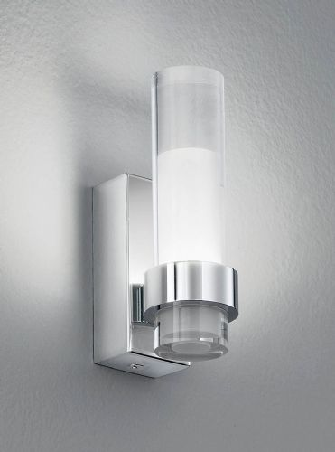 Franklite WB050 Chrome Wall Light (Class 2 Double Insulated)